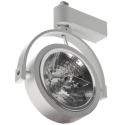 Lampa OVAL AR111 TRACKsys white
