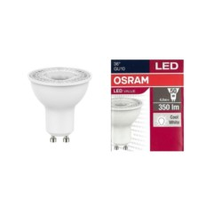 GU10 4,8W 6500K 350lm 36* OSRAM VALUE